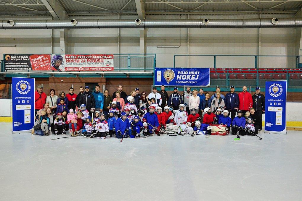 VIDEO: Týden hokeje alias Pojď hrát hokej