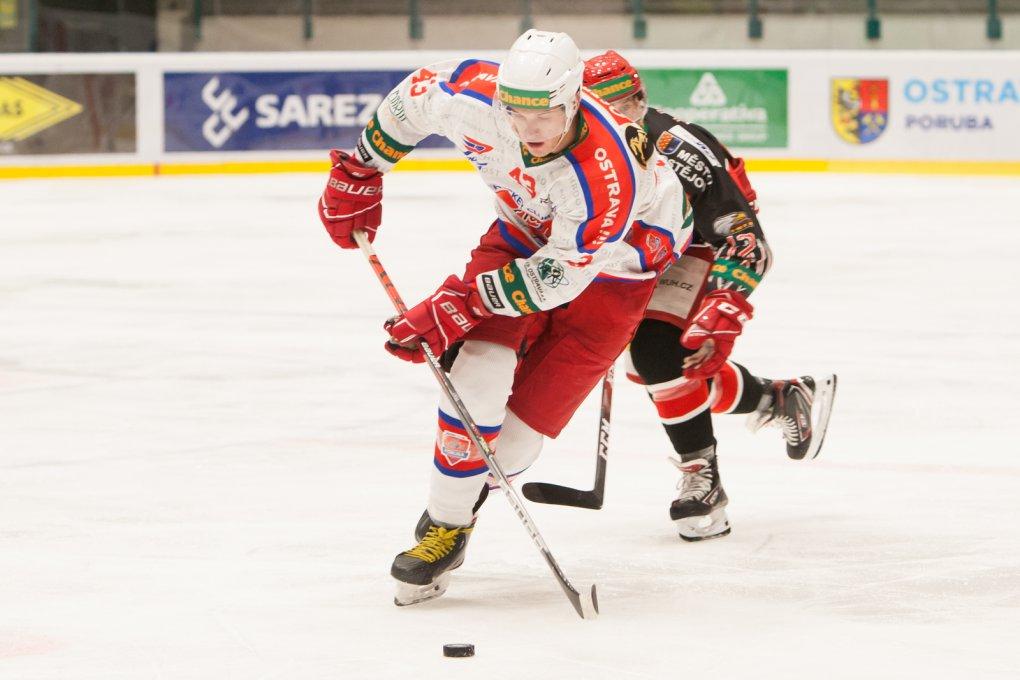 Někteří už mě posílají do NHL, směje se kat Jestřábů Tomáš Gřeš