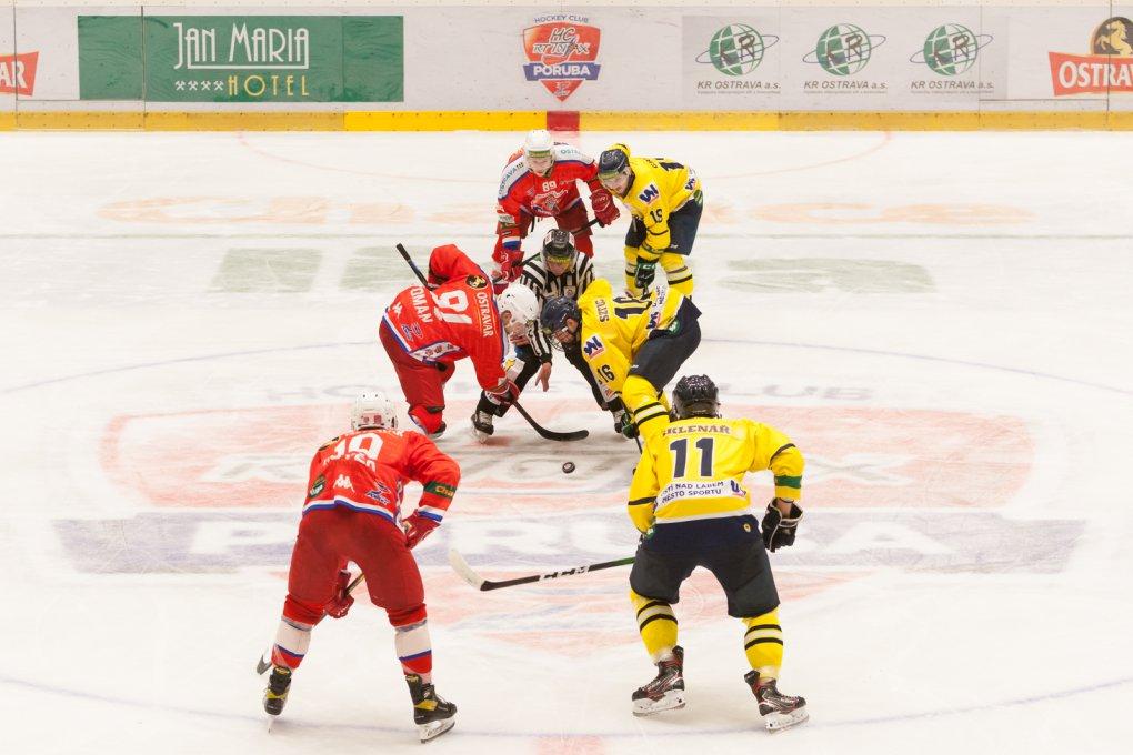 SESTŘIH: HC RT TORAX Poruba 2011 vs HC Slovan Ústí nad Labem 4:3