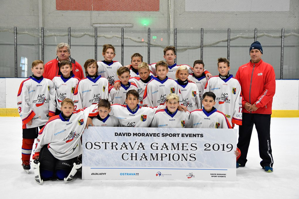 OSTRAVSKÉ HRY 2019 ročníku 2007 vyhrál Slovan Bratislava, Porubané skončili těsně pod stupni vítězů