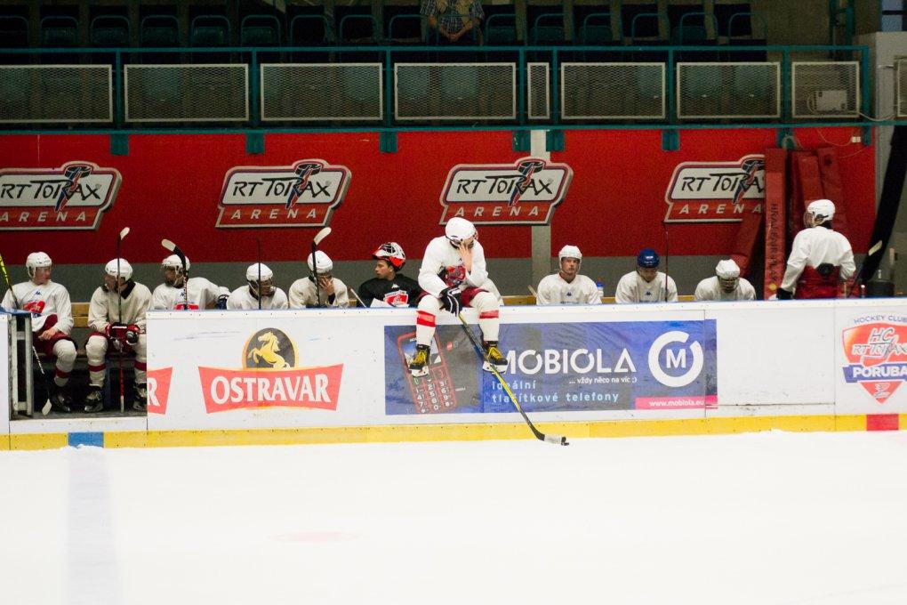 FOTO: Trénink juniorů HC RT TORAX Poruba na ledě, poslední před prázdninami