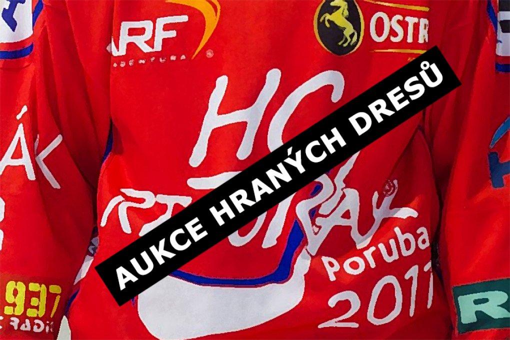 Aukce hraných dresů HC RT TORAX Poruba 2011