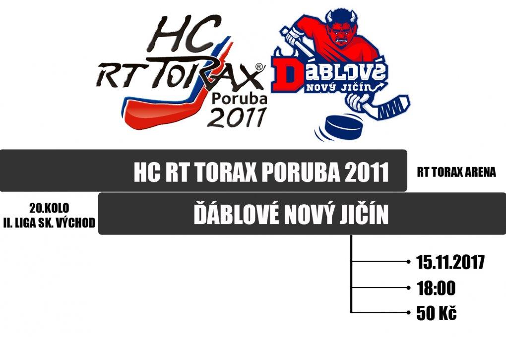 HC RT TORAX čekají ve šlágru kola třetí Ďáblové, odstartuje nová vítězná jízda?