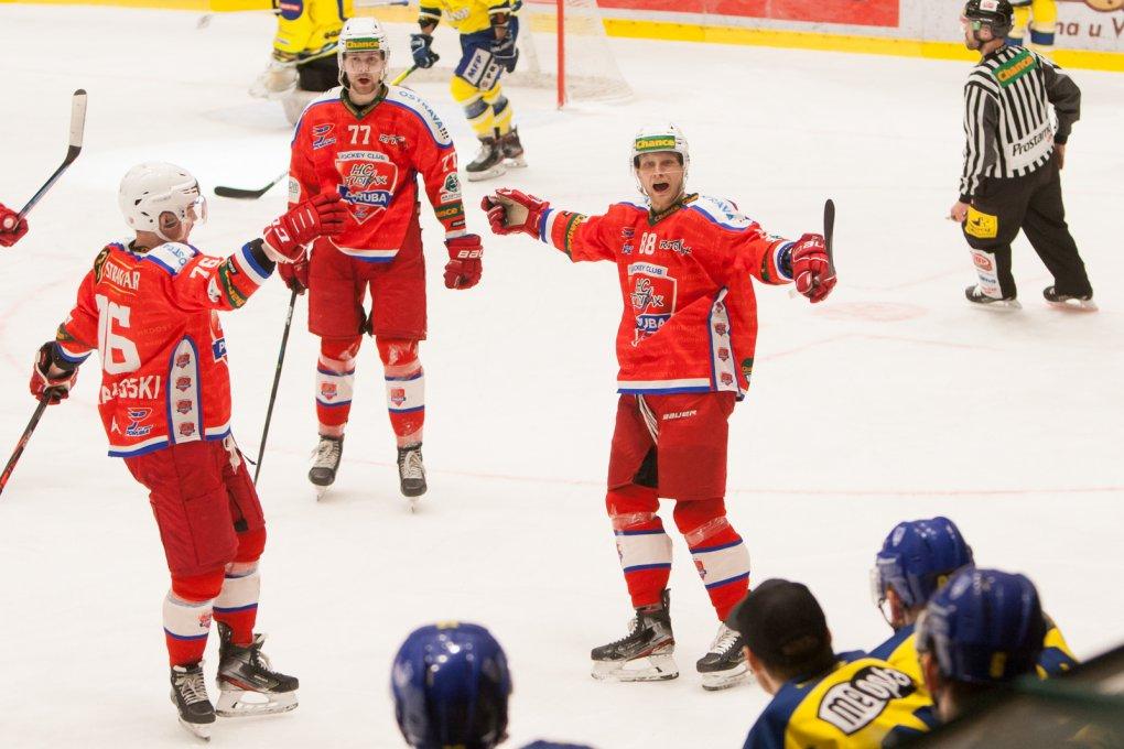 Čtvrtfinále byl první krůček, chceme víc, hodnotí sérii s Přerovem Marek Špaček