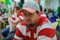 Branislav Konrád věnoval svému spoluhráči soustředěný pohled