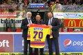 Sedmdesátiny slaví bývalý budějovický hráč Stanislav Hlach.