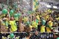 Příznivci Vsetína dotvářeli parádní atmosféru utkání.