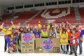 Do Budvar arény tentokrát zavítili žáci 9.B ze Základní školy Volary. Po utkání je přijel na led pozdravit Josef Mikyska.