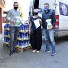 FK Teplice a BHMW darovaly vody do Domova důchodců v Bystřanech a do MS Centra