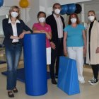 Nadační fond FK Teplice zakoupil rehabilitační klín do MS centra v teplické nemocnici