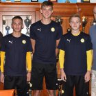 Talentovaní mladíci podepsali na Stínadlech profesionální smlouvu