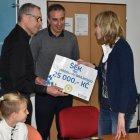 Partner klubu společnost OLPE také podpořila maminku jednoho z teplických mládežníků