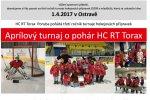 Aprílový turnaj o pohár HC RT TORAX