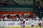 První domácí utkání se dorostu vydařilo na výbornou, Slusarčík nastřílel dva hattricky