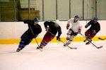 FOTO: Krev na ledě potí kromě áčka také nově vytvořené B-mužstvo