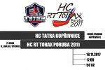 Poslední soupeř před týdenní pauzou. HC RT TORAX vyráží na oblíbený kopřivnický led