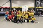 Hokej vs florbal aneb Ročníky 2010 a 2011 si zpestřují přípravu vzájemnou spoluprací