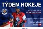 Přijďte ve čtvrtek 23. září v 17:00 do RT TORAX ARENY na akci Týden hokeje