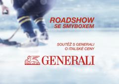 Pojištovna Generali přiveze hokejovým fanouškům Smybox i soutěž o auto!
