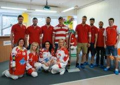 FOTO: Hráči HC Olomouc opět darovali krev