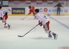 Kohouti znovu v akci! A-tým absolvoval první trénink na ledě