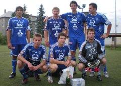 FOTO: Mladé pušky HC Olomouc druhé, turnaj vyhráli Fans of Slavonín