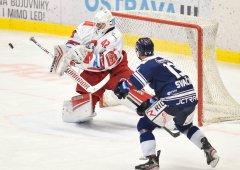 Olomouc poprvé  v sezóně nestačila na Vítkovice