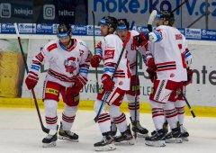 První výhra je doma. Olomouc na úvod předkola zdolala Plzeň 2:1