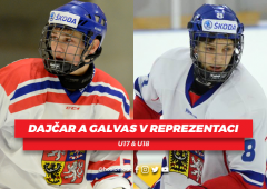 Tomáš Dajčar a Jakub Galvas znovu obléknou národní dres!