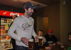 Pivo jsem ještě nečepoval, usmíval se po setkání s fanoušky Ivan Majeský