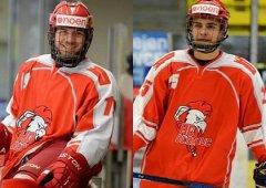 Hrajeme dobrý hokej, shodují se Dominik Hajšman a Patrik Říčka