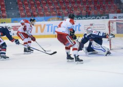 Litvínov loupil v plecharéně. Vyrovnaný zápas juniorů rozhodl ve třetí třetině