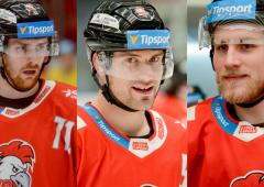 Pokračují v Olomouci: Rostislav Olesz, Lukáš Kucsera a Alex Rašner