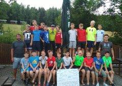 Spolupráce a týmová kultura se díky soustředění hodně zlepšila, těšilo trenéry Konopčíka a Kočiříka