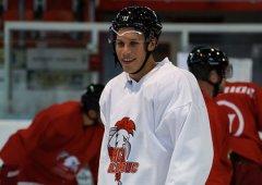 Na první zápas už se těším, usmíval se po návratu na led Tomáš Fořt