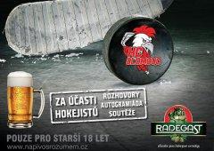 HC Olomouc a Radegast zvou fanoušky na setkání s hráči u piva!