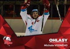 Jsme rádi, že už se to protrhlo, oddechl si Michal Vodný