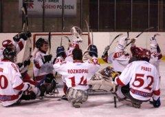 Sledge hokejisté zvítězili ve Studénce bez inkasované branky