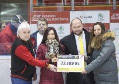 HC Olomouc pomohl vybrat pro Janu Ryšánkovou více než sedmdesát tisíc korun!