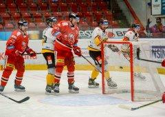 Kohouti poprvé v sezóně porazili Litvínov, dali 3 góly během 9 minut