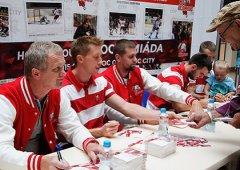 Pětice olomouckých hokejistů se představí na veletrhu Moravia Sport Expo
