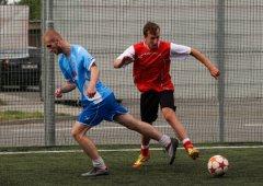 FOTO: Slavonín po roce hostil fotbalový turnaj hokejistů Mory s jejich fanoušky!