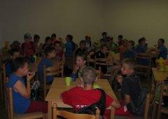 Na soustředění vyrazili i mladší žáci Mory
