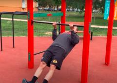 #HokejDoma - Workoutové høištì I