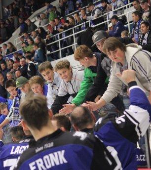 Havířovští hokejisté vítězí po krásném výkonu nad Budějovicemi
