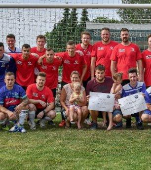 Kompletní A tým zve na dobročinný fotbalový zápas pro podporu nemocné Natálky