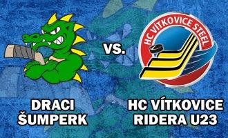 Druhý zápas přípravy je tady, Draci jdou na Vítkovice