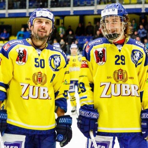 Jsme šťastní, že jsme si spolu mohli zahrát, shodli se otec a syn Pláškovi