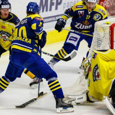Vítězná série po osmi zápasech skončila, tým Zubrů nevyzrál na ústecký Slovan