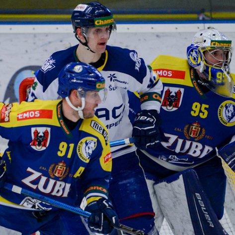 Zubři doma proti Šumperku přišli o náskok dvou branek, zápas přesto dotáhli k výhře